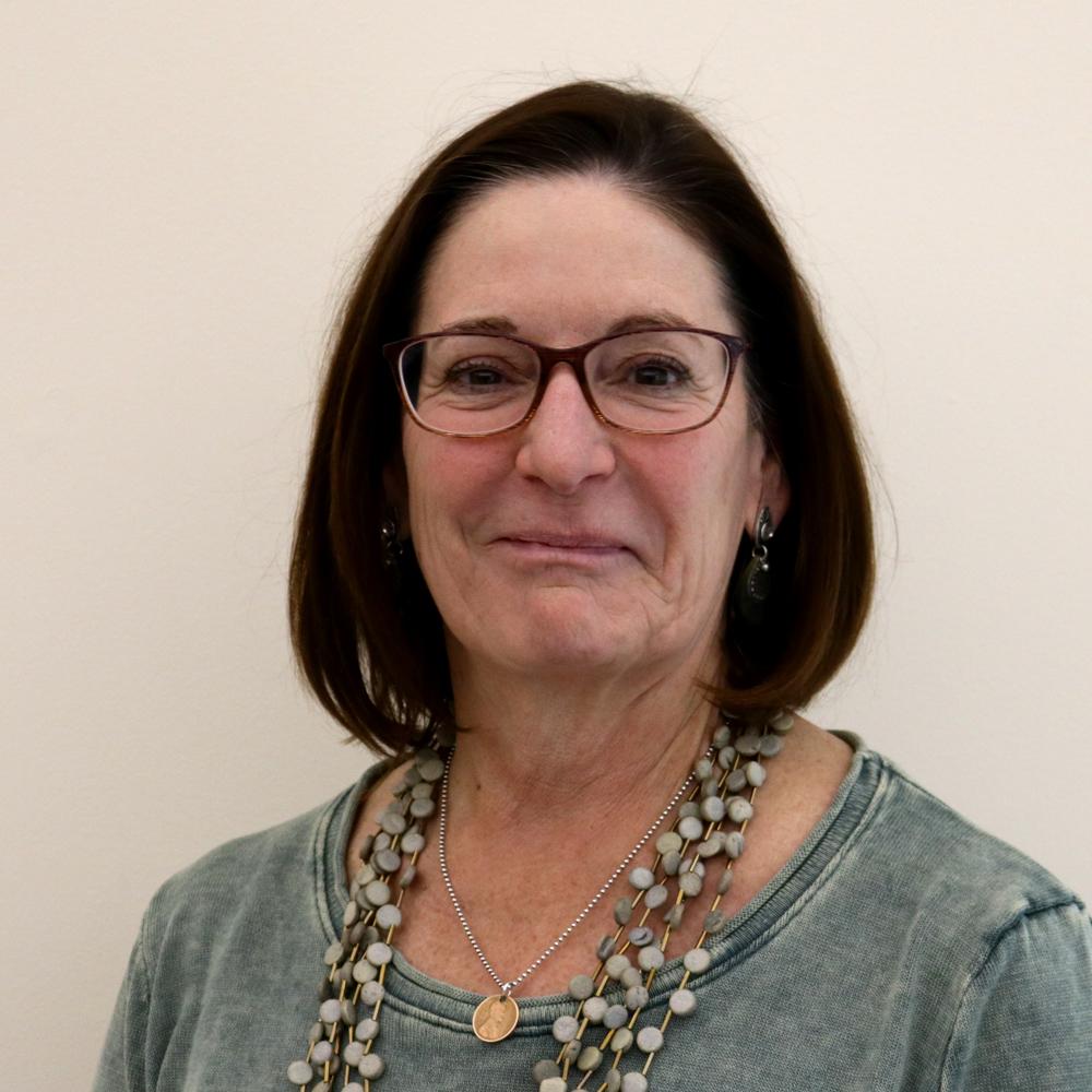 A headshot of Deb Palmer